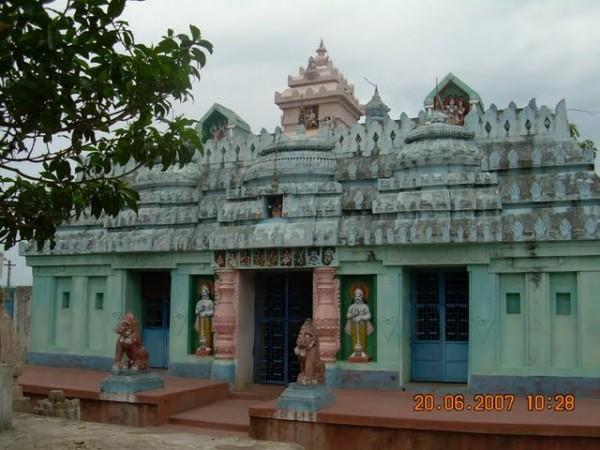 Dharamgarh photos, Junagarh - Entrance of Dadhibamana Temple