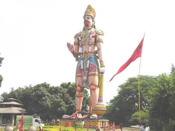 Rourkela photos, Hanuman Vatika - Statue of Lord Hanuman
