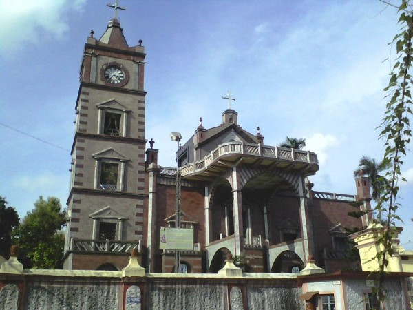 Hooghly photos, Bandel Church - Clear View