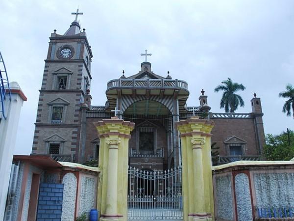 Hooghly photos, Bandel Church - Exterior View