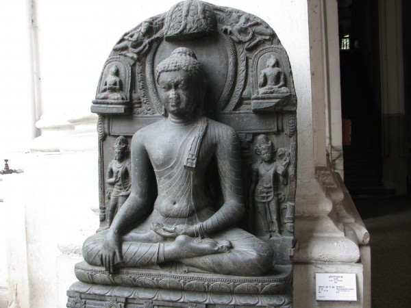 Kolkata photos, Indian Museum - A Sculpture of Lord Buddha