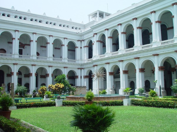 Kolkata photos, Indian Museum - An Outside View