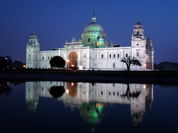 Kolkata photos, Victoria Memorial - A Night View