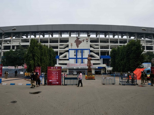 Kolkata photos, Salt Lake Stadium - The Entrance