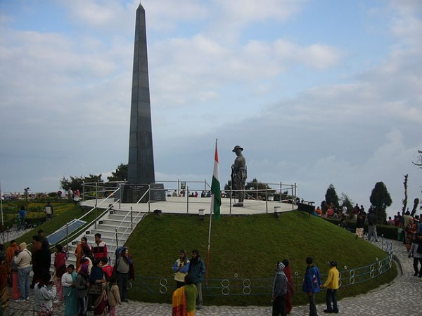 Darjeeling photos, Batasia Loop and War Memorial - A dusk by the Batasia Loop in Darjeeling