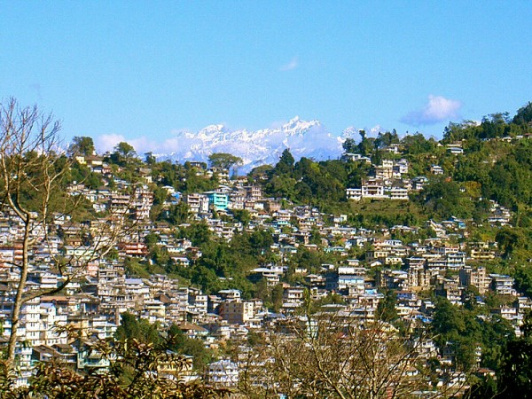 Kalimpong photos, Deolo Hill - A beautiful view of Kalimpong town