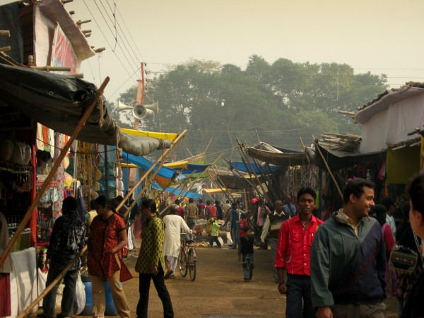 Santiniketan photos, Poush Mela Bazaar