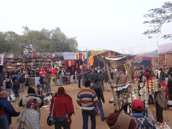 Santiniketan photos, A Poush Mela Bazaar