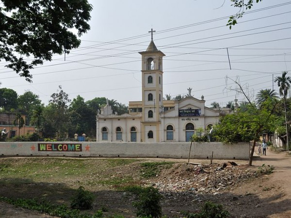 Krishnanagar photos, Roman Catholic Church - The Don Bosco Church in Krishnanagar