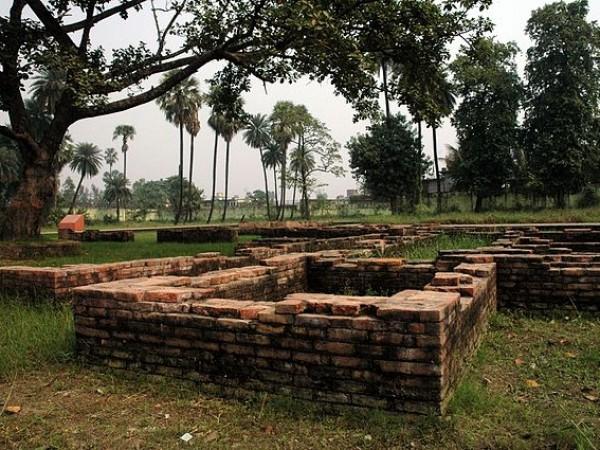 Patna photos, Kumhrar - Ruins of Patliputra