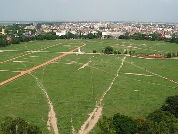 Patna photos, Gandhi Maidan - A Complete View