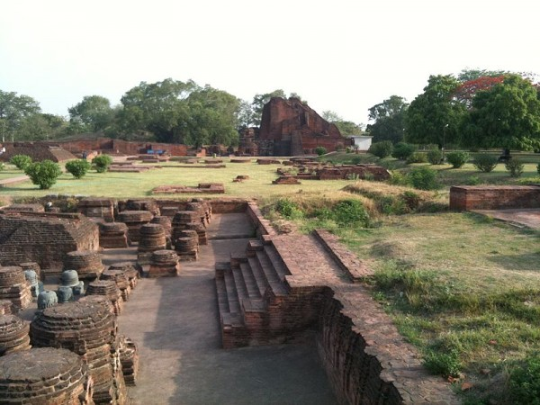 Nalanda photos, Nalanda University Ruins - The View