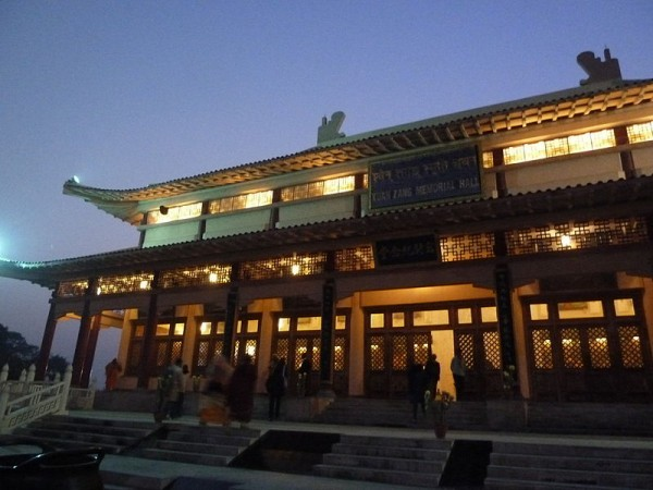 Nalanda photos, Hieun Tsang Memorial Hall - Hall