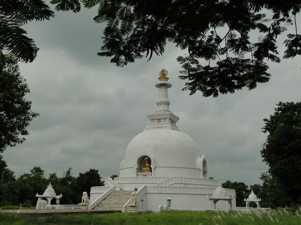 Vaishali photos, World Peace Pagoda - Clear View