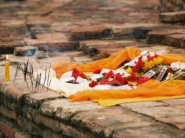 Vaishali photos, Kutagarasala Vihara - Shrine amidst the Vihara
