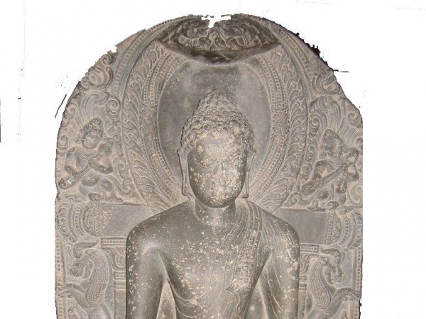 Nawada photos, Naarad Museum - An old Buddha Sculpture