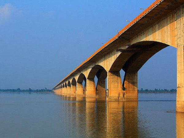Patna photos, Mahatma Gandhi Setu - The Longest River Bridge