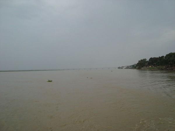 Patna photos, Mahatma Gandhi Setu - The Ganges