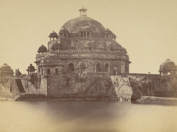 Rohtas photos, Sasaram - Sher Shah Suri's Tomb,1870 photograph