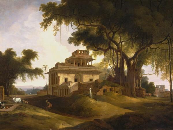 Rohtas photos, Sasaram - Thomas Daniell-Ruins of the Naurattan