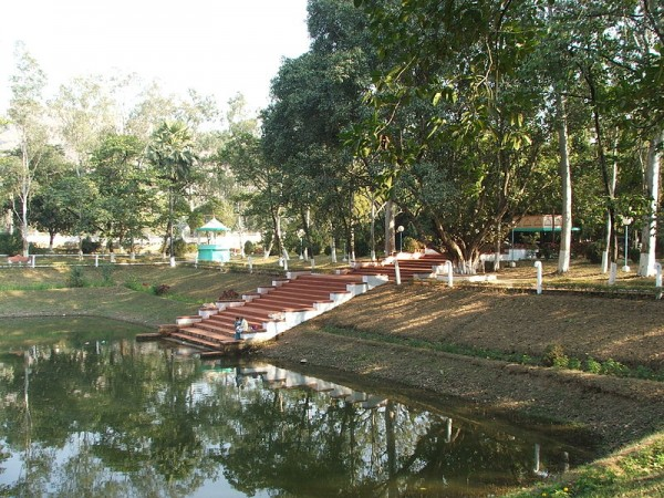 Rajgir photos, Venu Vana - A Pond