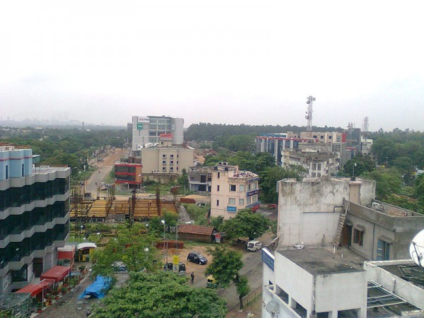 Durgapur photos, Aerial view of city