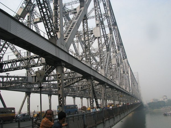 Kolkata photos, Howrah Bridge - The Architecture