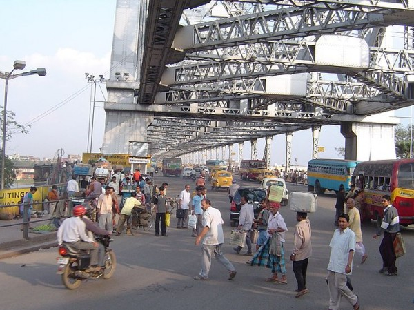 Kolkata photos, Howrah Bridge -A View