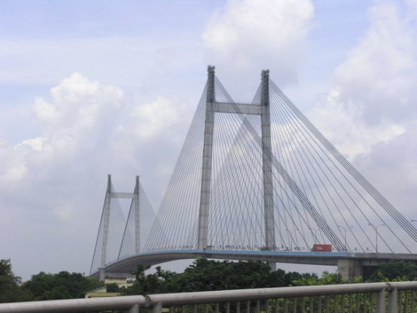 Howrah photos, Vidyasagar Setu - Full Bridge