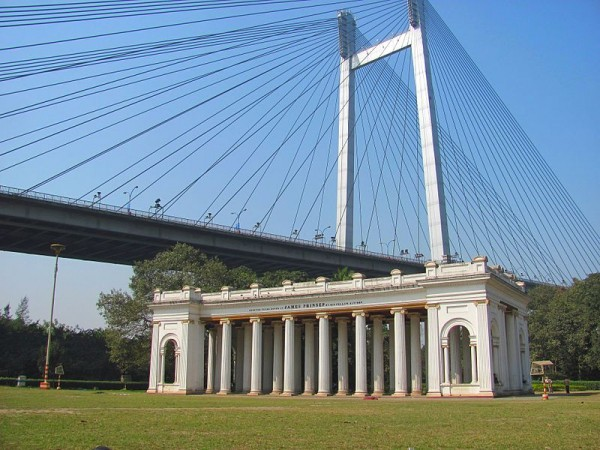 Howrah photos, Vidyasagar Setu - Architecture