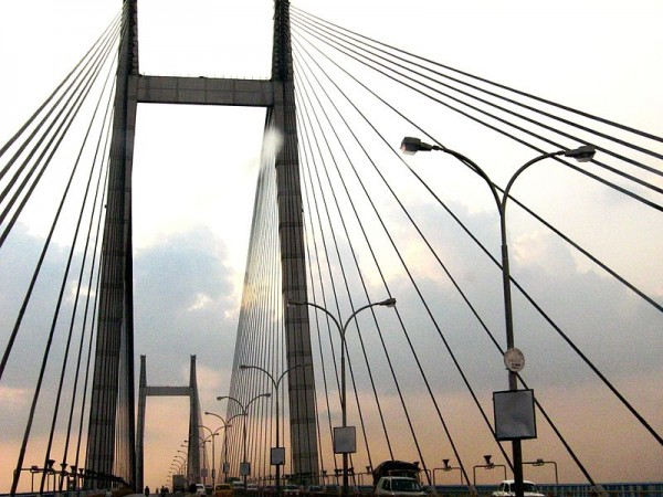 Howrah photos, Vidyasagar Setu - At Evening
