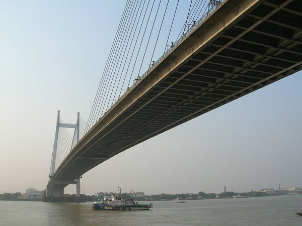 Howrah photos, Vidyasagar Setu - View of the Setu