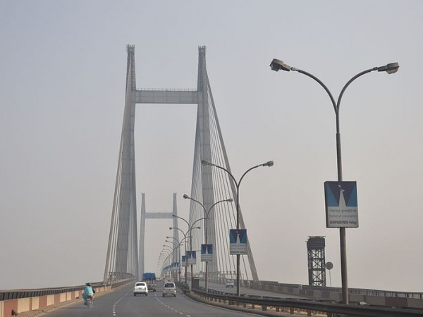 Howrah photos, Vidyasagar Setu - Second Hoogly Bridge