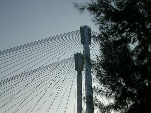 Howrah photos, Vidyasagar Setu - Side View