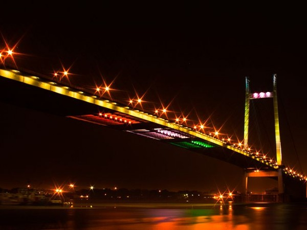 Howrah photos, Vidyasagar Setu - Night view
