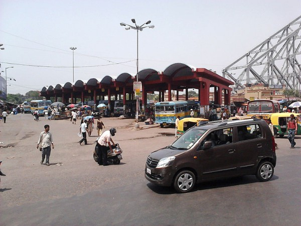 Howrah photos, Bus Terminal