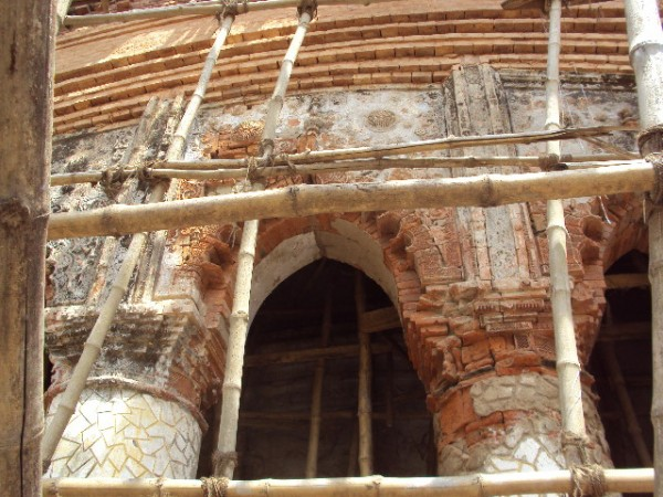 Bishnupur-West Bengal photos, Madanmohan Temple - Traditional Brick Works
