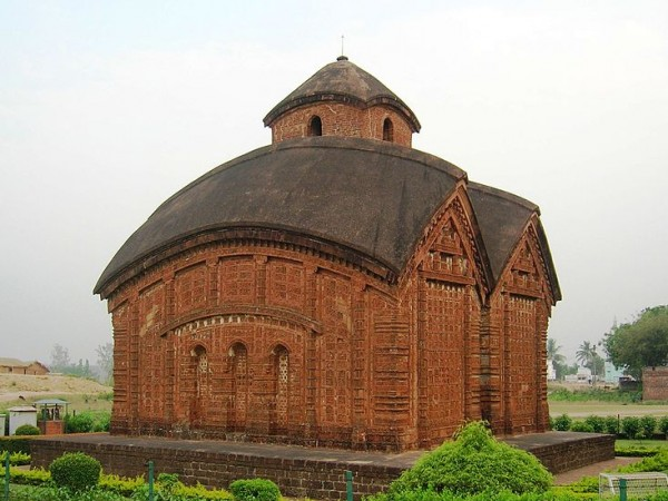 Bishnupur-West Bengal photos, Jorebangla Temple at Keshto Rai - Exterior View