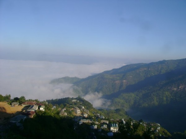 Saiha photos, Misty clouds