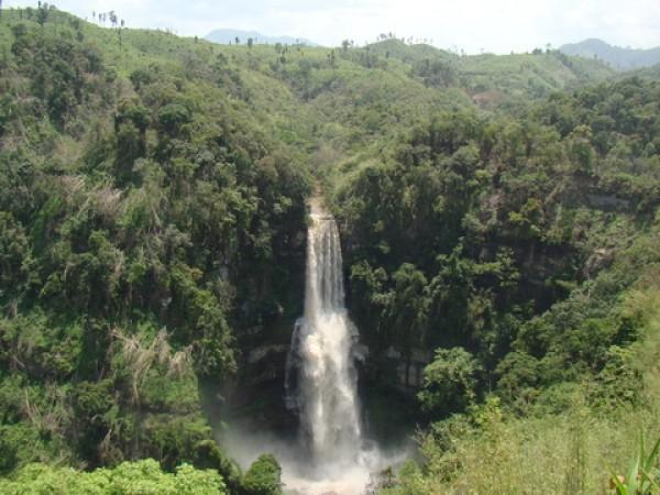 Thenzawl photos, Vantawng fall - An entiching view