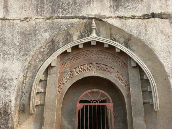Bodh Gaya photos, Caves at Barabar Hills - The Lomas Rishi Cave