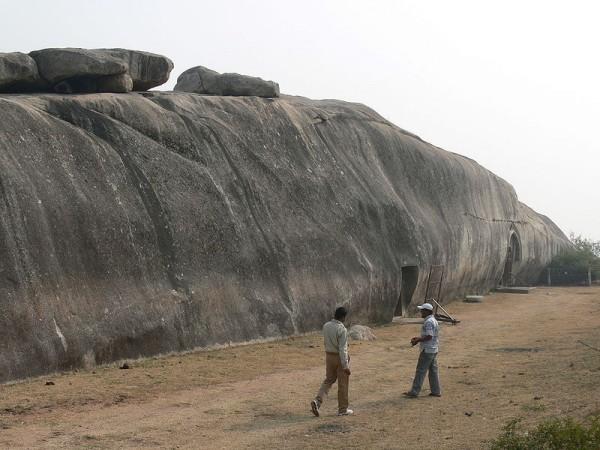 Bodh Gaya photos, Caves at Barabar Hills - The Barabar Hill Cave