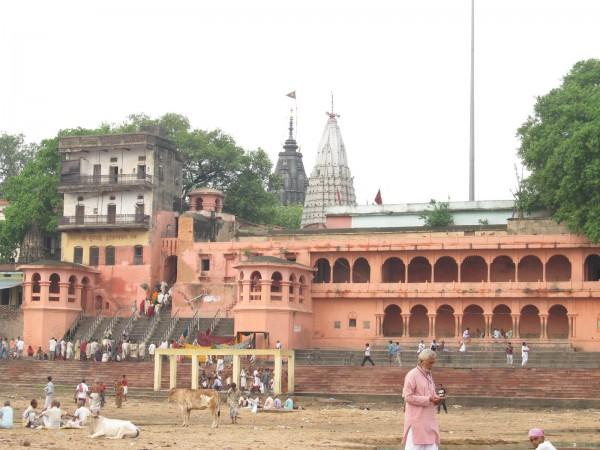 Bodh Gaya photos, Vishnupad Temple - The famous Vishnupad Temple