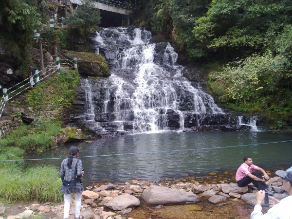 Shillong photos, Elephant Falls - Distant view