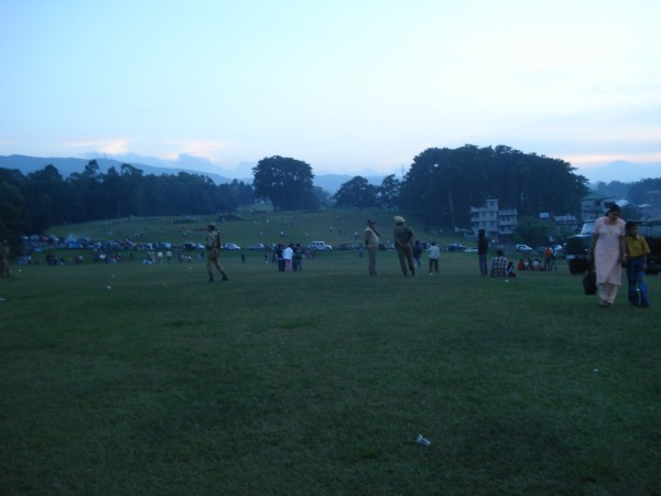 Shillong photos, Shillong Golf Course - An evening in Golf Course