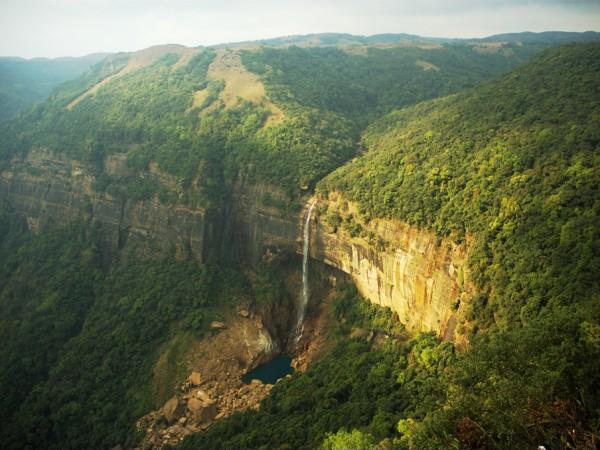 Cherrapunji photos, Nohkalikai Falls - Nohkalikai Falls