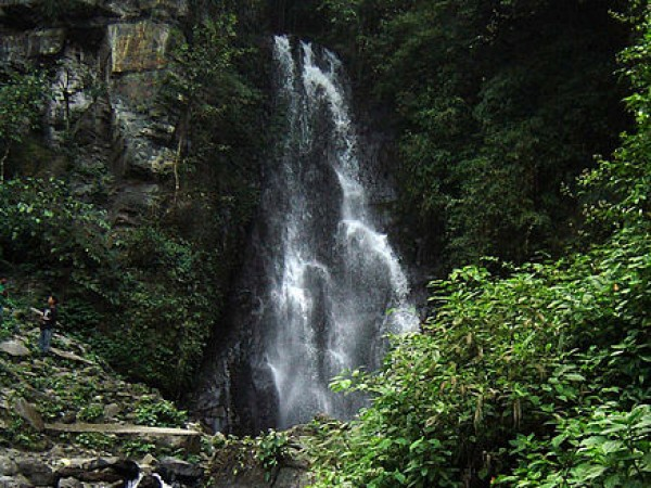 Imphal photos, Leimaram waterfall