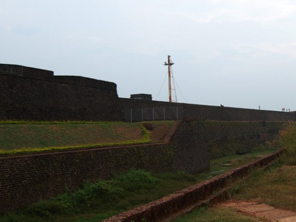 Kannur photos, Fort St. Angelo - Greenery