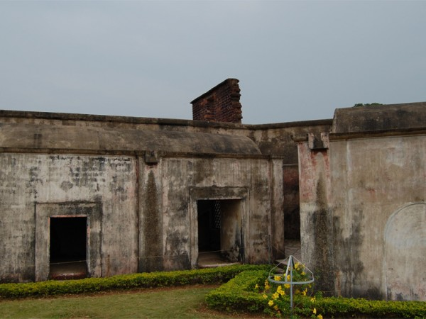 Kannur photos, Fort St. Angelo - Cells