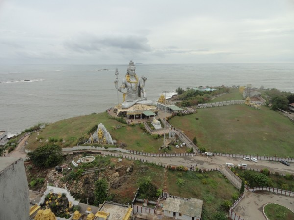 Murudeshwar photos, Statue of Lord Shiva - Distant View